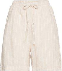 shorts gillian linen shorts flowy shorts/casual shorts creme lindex