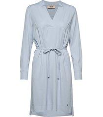 lipa cuba dress knälång klänning blå mos mosh