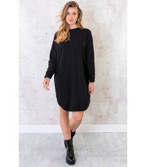 comfy trui lang zwart