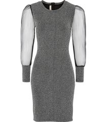 abito con lurex (argento) - bodyflirt boutique
