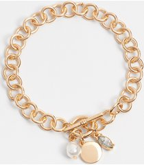 maurices womens gold toggle bracelet