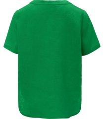 blouse van peter hahn groen
