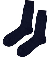 calzedonia - short egyptian cotton socks, 46-47, blue, men