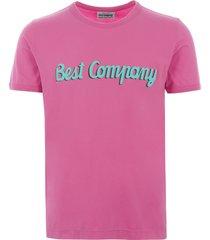 best company logo t-shirt - pink 692035