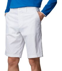 boss men's hayler white shorts