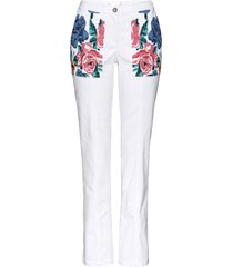 pantaloni in twill (bianco) - bpc selection