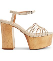 genellda sandal - 11 off white leather