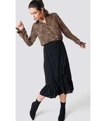 sisters point givi-a skirt - black