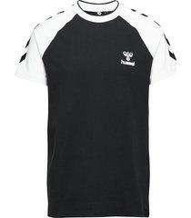 hmlmark t-shirt s/s t-shirts short-sleeved svart hummel