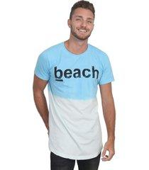 camiseta royal brand long beach branco-azul