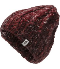 gorro chunky knit rojo the north face