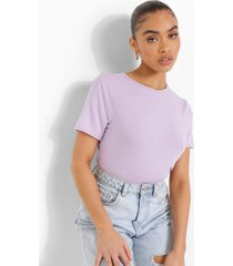 basic one piece met t-shirt top, lilac