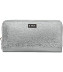dkny gigi leather zip around wallet, created for macy's