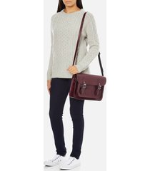 the cambridge satchel company women's 13 inch magnetic satchel - oxblood