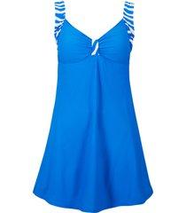 abito da bagno (blu) - bpc bonprix collection