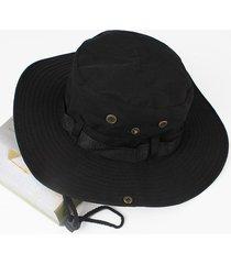 acampar al aire libre senderismo sombrero de protección solar sombrero