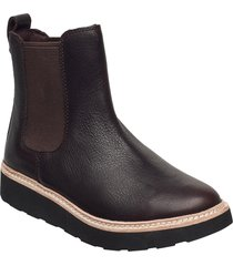 trace cora shoes chelsea boots brun clarks