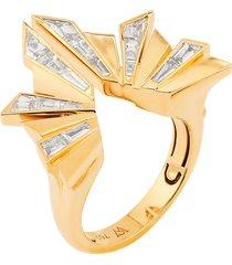 dynamite' diamond 18k gold cocktail ring