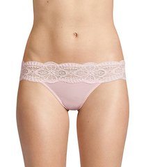 sonia lace-trimmed bikini panty