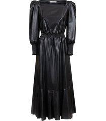 philosophy di lorenzo serafini fitted waist flared dress