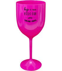 2 taã§as vinho rosa acrãlico personalizadas enfermagem - rosa - dafiti