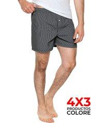 boxer gris colore