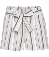 shorts in misto lino con fusciacca (rosa) - bodyflirt