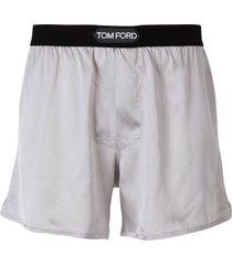 satin boxer shorts