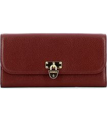 coccinelle womens red wallet