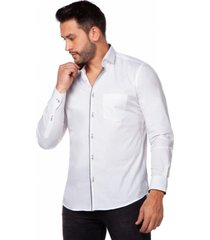 camisa casual colombiana dion blanca daxxys jeans