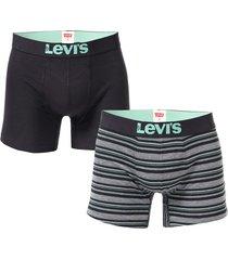 mens textured basic 2 pack boxer shorts