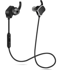 audífonos bluetooth inalámbricos magnéticos manos libres-blanco negro