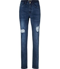 formande jeans, smal passform