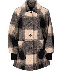 women's pendleton shorthills raglan wool blend coat, size small - ivory