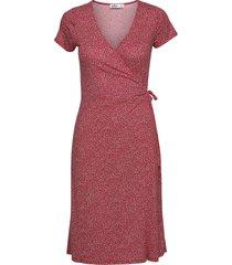 knit midi dress knälång klänning rosa hollister