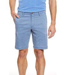 men's big & tall tommy bahama boracay cargo shorts, size 44 - blue