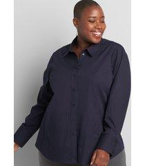 lane bryant women's girlfriend shirt 12 night sky
