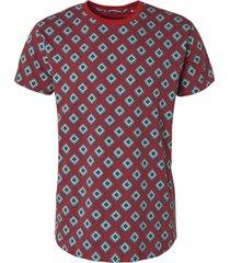no excess t-shirt s/sl, r-neck, stretch, ao p cayenne