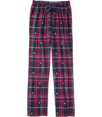 pantaloni pigiama in flanella (blu) - bpc bonprix collection
