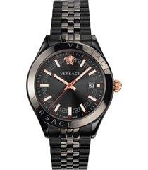 versace hellenyium bracelet watch, 42mm