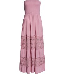 women's chelsea28 farrah smocked cover-up maxi dress