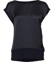 sc-thilde blouses short-sleeved blå soyaconcept