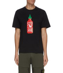 'chilli sauce' pixelated 3d graphic t-shirt