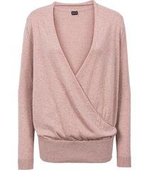 maglione incrociato (rosa) - bodyflirt