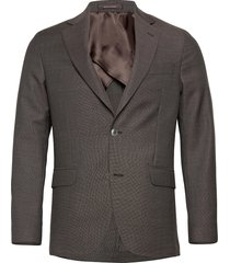 egel soft blazer blazer kavaj brun oscar jacobson