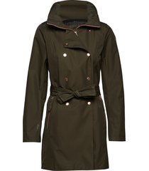 w welsey ii trench parkas rock grön helly hansen
