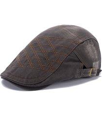 cappello da berretto da lavaggio di denim da uomo