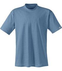 t-shirt met halflange mouw, staalblauw 5