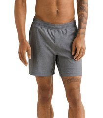 men's rhone mako water resistant pocket performance athletic shorts, size small - grey