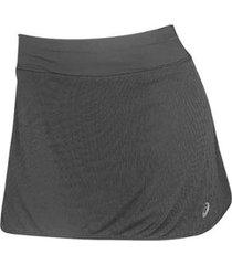 shorts saia asics running base skort feminino